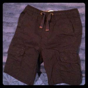 Boys tailor vintage dark navy cargo shorts